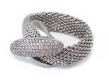 Köves ezüst fantáziagyűrű