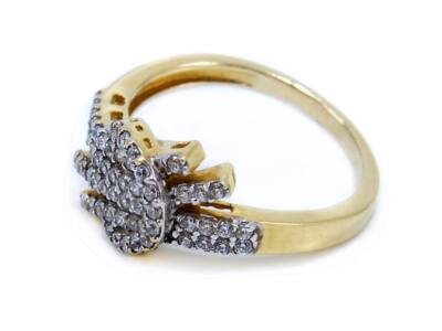 Köves fantázia arany gyűrű