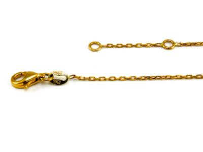 Tricolor arany bokalánc