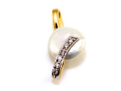 Gyöngyös-köves arany medál