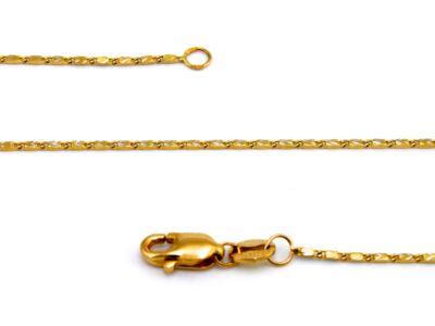 Bicolor arany nyaklánc