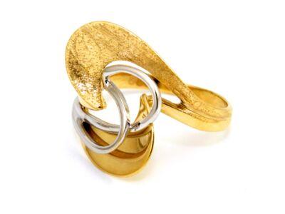 Fantázia női arany gyűrű