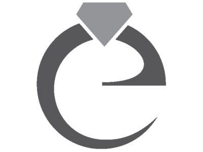 Köves félgömb arany fülbevaló