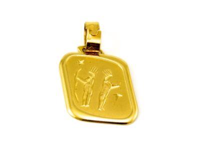 Ikrek arany medál