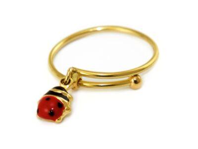 Katicás gyermek arany gyűrű