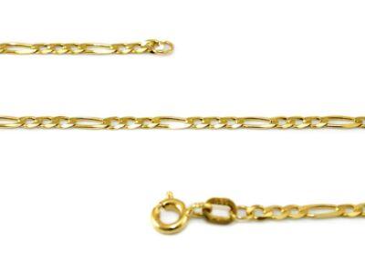 Figaró arany nyaklánc