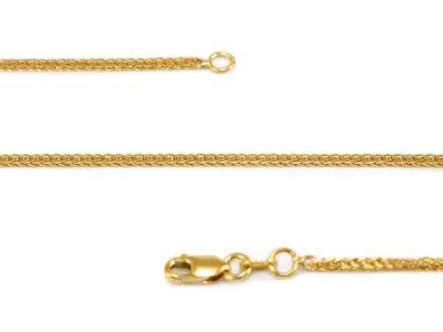 Fonott arany nyaklánc