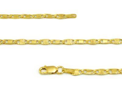 Pálcás pancer arany nyaklánc