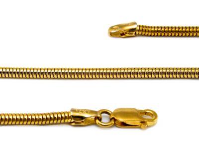 Arany kígyólánc