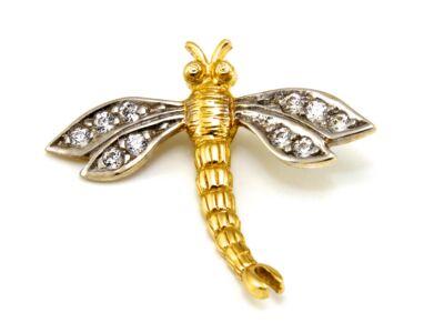 Köves szitakötő arany medál