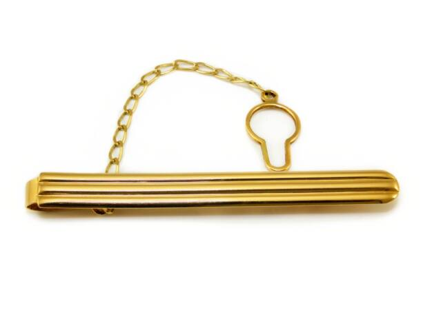 Mintás arany nyakkendőtű
