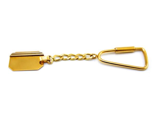 Bicolor arany kulcstartó