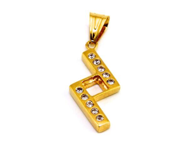 Köves arany medál
