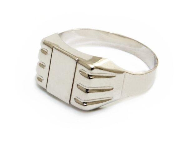 Fehérarany pecsétgyűrű