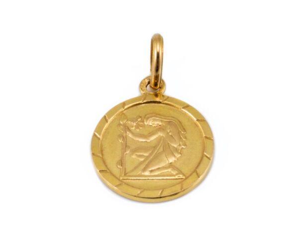 Szűz arany medál