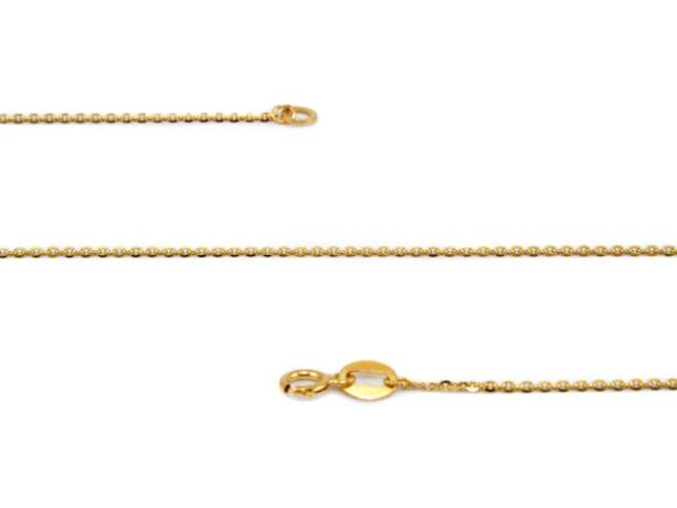 Vékony anker arany nyaklánc