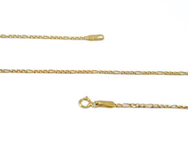 Vékony figaró arany nyaklánc
