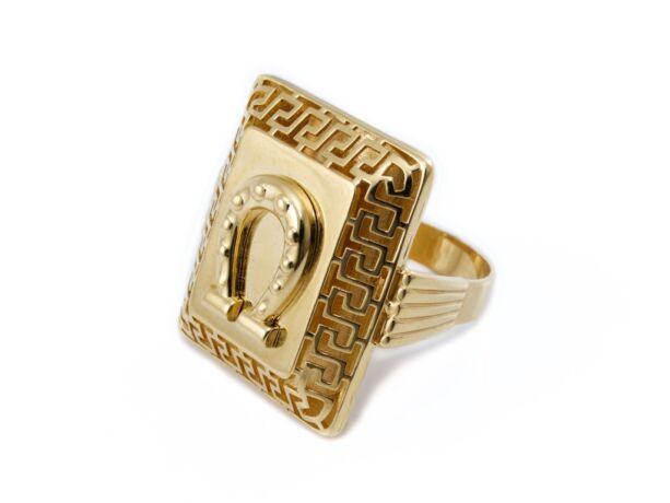 Patkós arany pecsétgyűrű