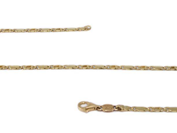 Betétes scharless arany nyaklánc