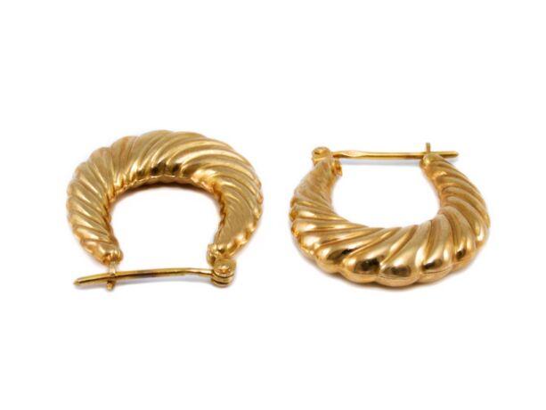 Kreola arany fülbevaló