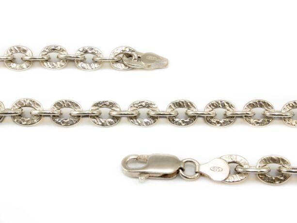 Mintás anker ezüst nyaklánc