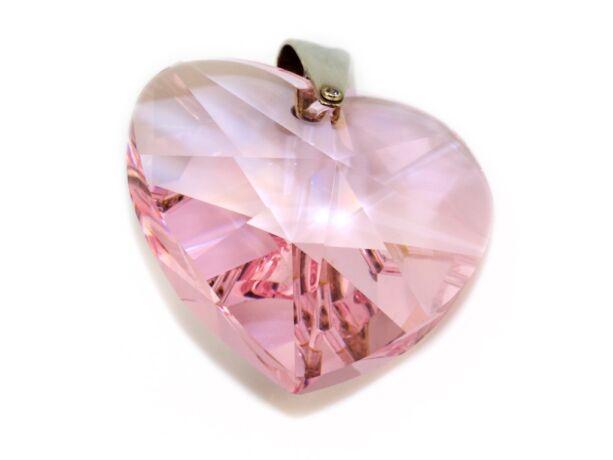 Swarovski szív medál