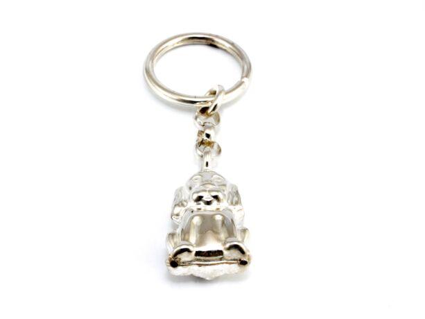 Kutyás ezüst kulcstartó