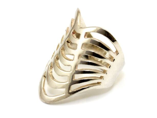 Áttört női ezüst gyűrű