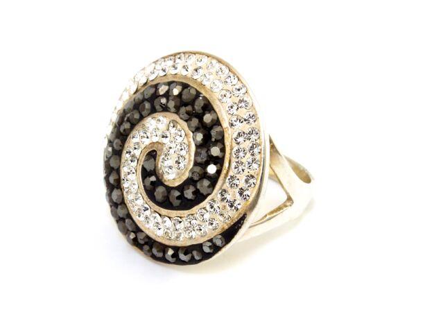 Swarovski köves női ezüst gyűrű