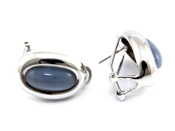 Női ezüst fülbevaló