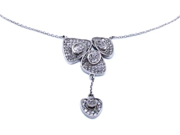 Köves fantázia ezüst nyakék