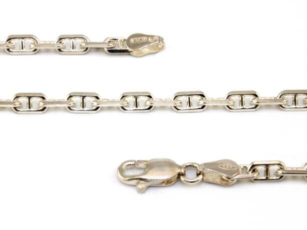 H-anker ezüst nyaklánc