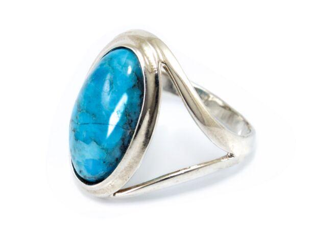 Kék köves női ezüst gyűrű