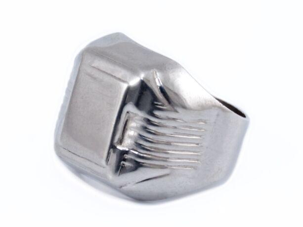 Klasszikus ezüst pecsétgyűrű