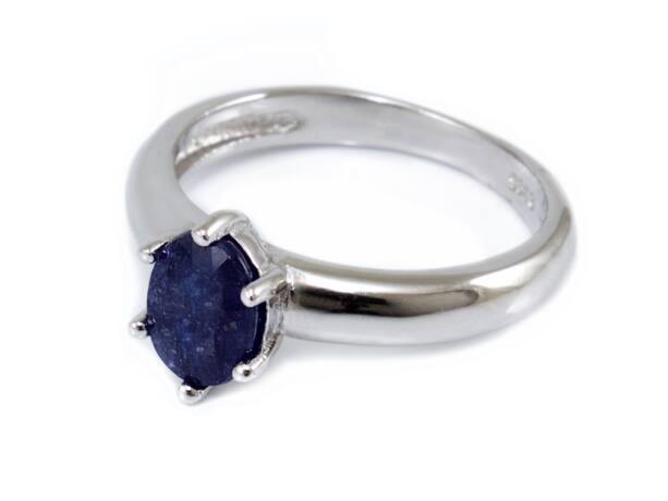 Zafír köves női ezüst gyűrű