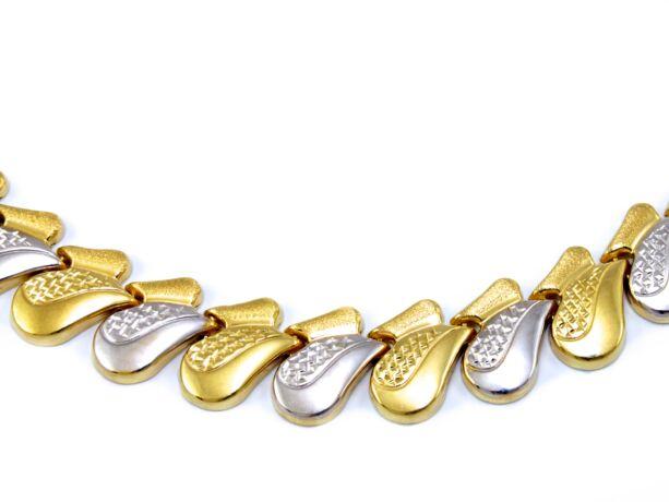 Bicolor arany nyakék