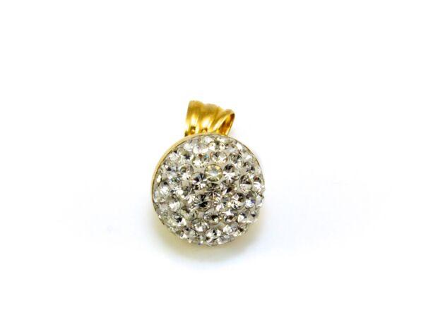 Swarovski köves arany medál